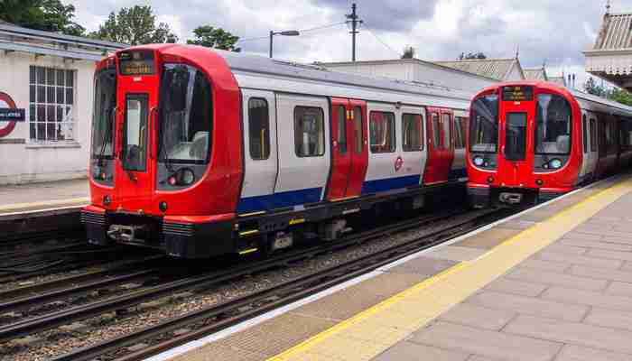 London Underground trains